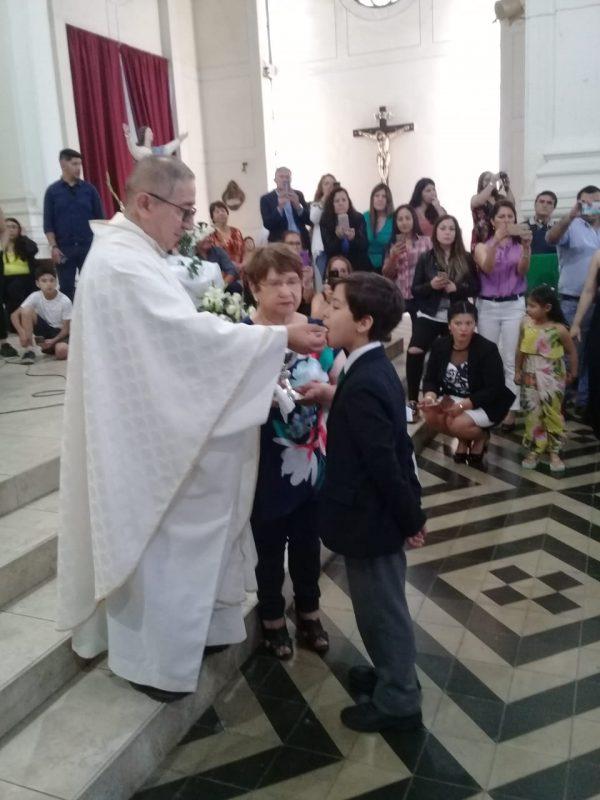 Ceremonia Primera Comunión 2019